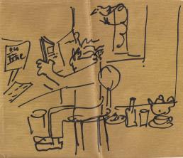 Zeichnung Arbeit