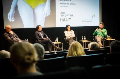 vl: Stephan Fischer, Adrienne Braun, Hannelore Schlaffer, Nils Pickert